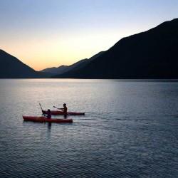 Kayaking Near Sequim